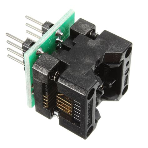 Adapter Ic Programmer Sop8 To Dip8 200 Ml 150mil 200mil soic8 sop8 to dip8 ez programmer adapter socket converter module ebay