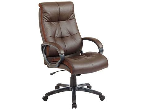 fauteuil bureau marron fauteuil de bureau elite coloris marron vente de
