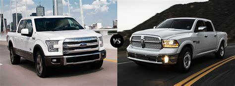 dodge ram vs ford f 150 2017 ford f 150 vs 2017 dodge ram 1500 comparison