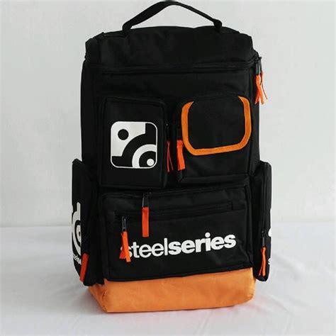 Tas Gaming Bigbag Steelseries backpack premium steelseries orange