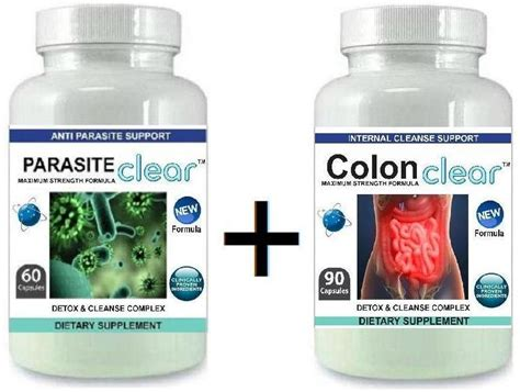 Why Liver Cleanse After Parasite Detox by 2 Parasite Cleanser Pills Detox Colon Liver Cleanse Flush