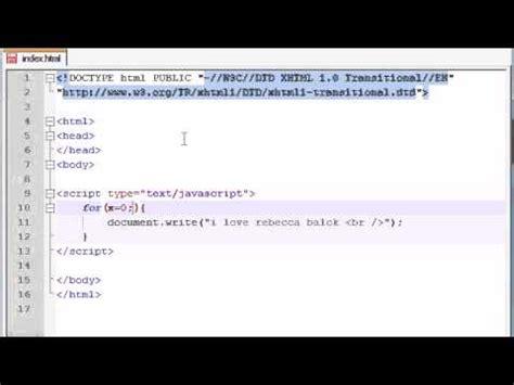 tutorial javascript for loop beginner javascript tutorial 19 for loop youtube