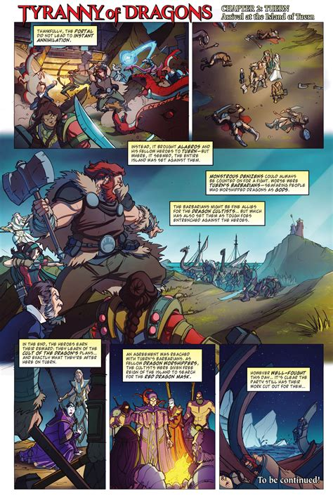 dungeons and dragons comic by tyranny of dragons comic 3 dungeons dragons