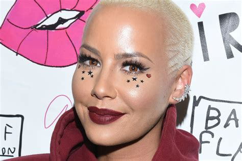 amber rose says her son sees her quot all the time