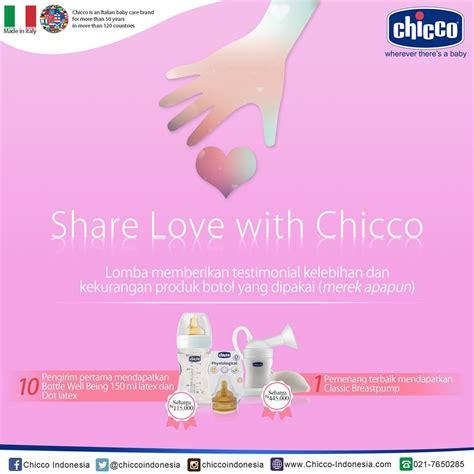 Breast Chicco Clasic kuis bulanan chicco indonesia berhadiah classic breastpump