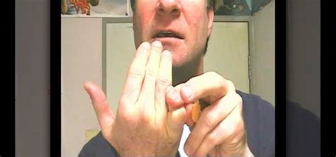 how to finger how to break your finger off and eat it for a trick 171 prop