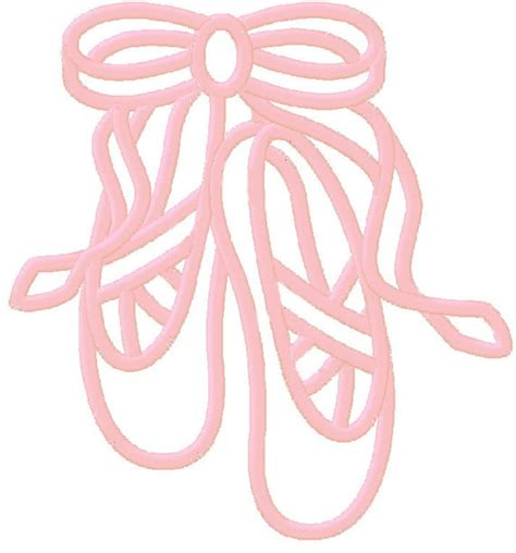 pictures of designs pictures of ballet slippers clipart best