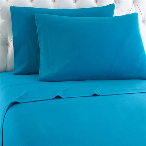 9 best flannel bed sheets reviews micro flannel queen 4 piece teal sheet set mfnssqntel