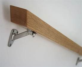wood handrails for stairs wall mounted wood handrail search details