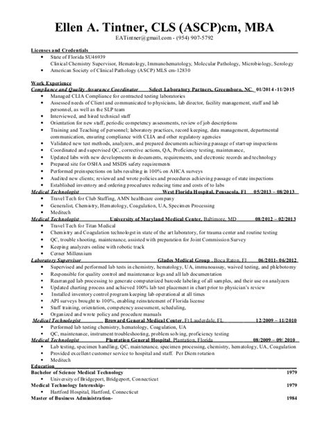 resume cls resume ideas