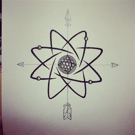 science tattoo designs 25 best ideas about atom on galaxy