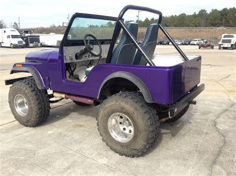 purple jeep cj 1978 jeep cj 5 fiberglass 304 v 8 jeep cj