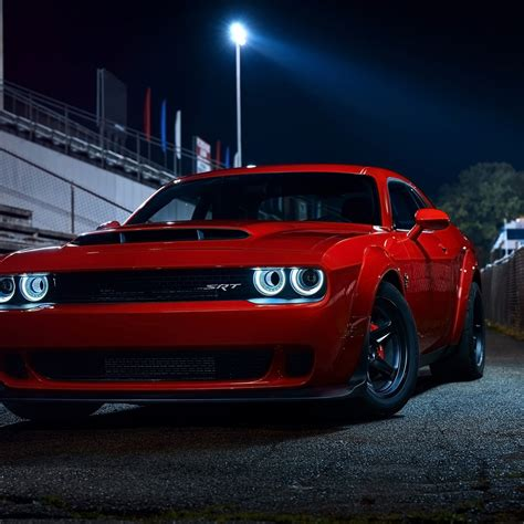 wallpaper dodge challenger srt demon  automotive
