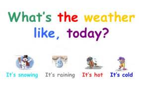 What Is The Weather In Today What S The Weather Like