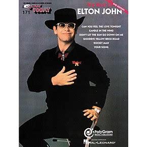 best of elton hal leonard 171 the best of elton musician s friend