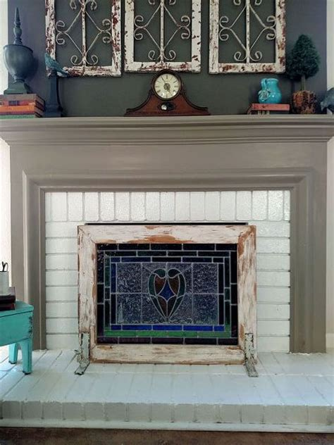 fireplace cover ideas 17 best ideas about fireplace grate on pinterest