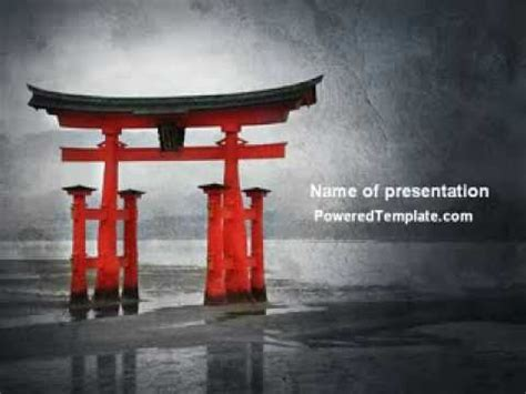 powerpoint templates free download japan ancient japan powerpoint template by poweredtemplate com