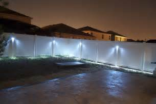 outdoor fence lighting additional outdoor lighting ideas i lighting llc