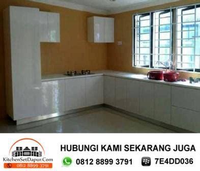 Set Sekat Silver tukang kitchen set ciputat pembuatan kitchen set minimalis murah