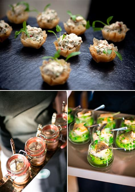 canapes ideas creative canapes wedding catering ideas reinvention of
