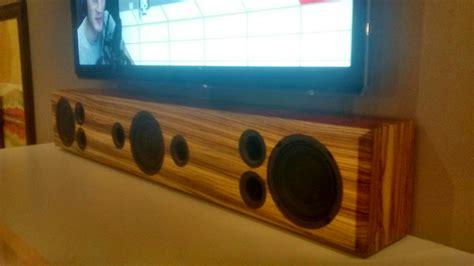 creating diy sound bar  placing  volts