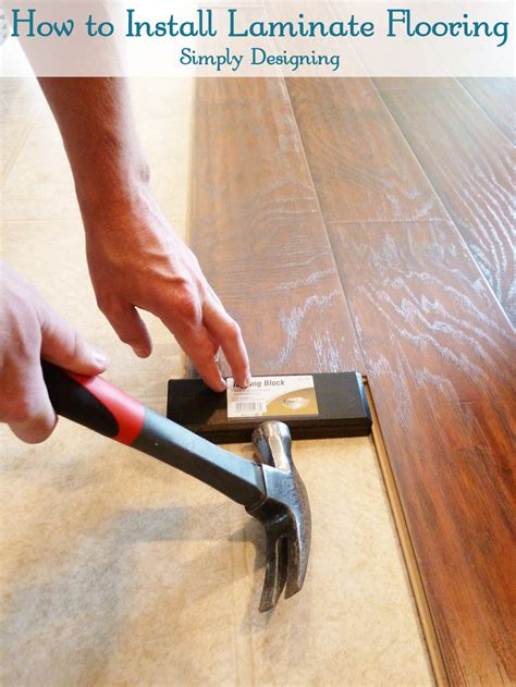 Diy Laminate Flooring Installation How To Install Floating Laminate Wood Flooring Part 2 The Installation