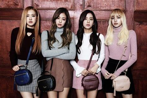 blackpink variety black pink rock a variety of bags as muses for st scott