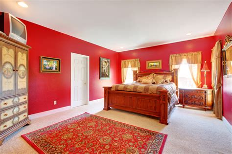 red master bedroom walls 60 red room design ideas all rooms photo gallery