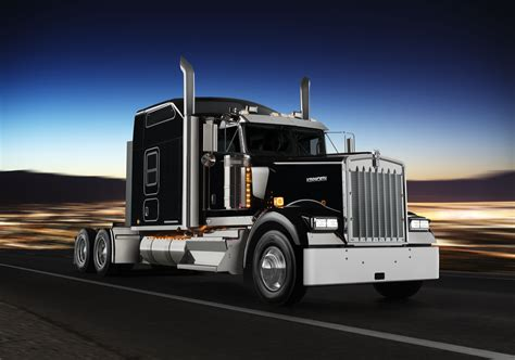 kenwood w900 kenworth launches w900 spin off improves efficiency of