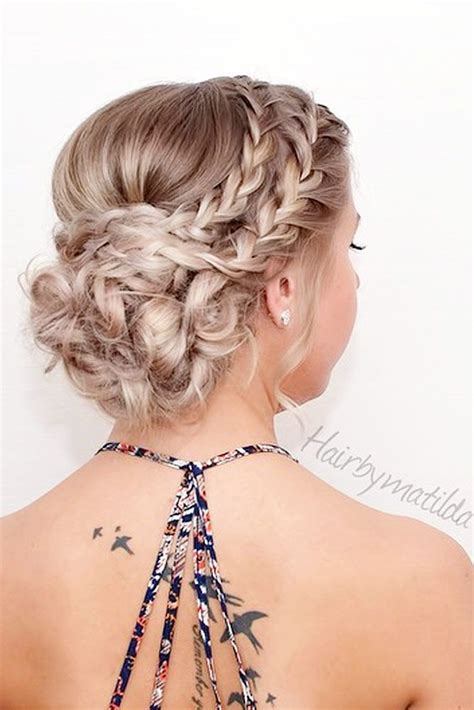 Prom Updos Hairstyles For Hair by 25 Best Ideas About Homecoming Hairstyles On