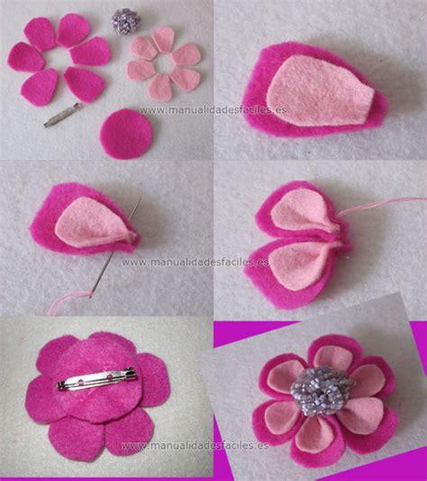 imagenes de flores reciclables flores de fieltro paso a paso manualidades reciclables
