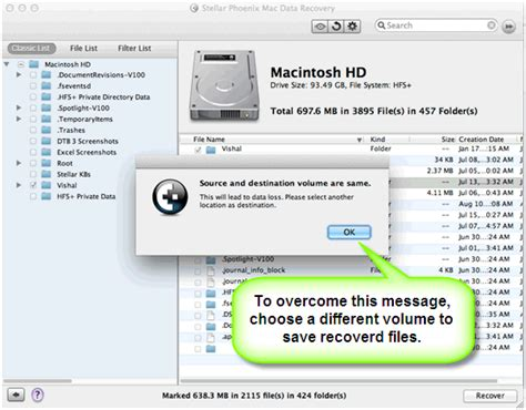 Chosen Different Volume 1 what to do when stellar mac data recovery gives