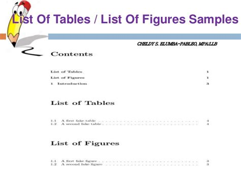 Monash Mba Course Structure by List Of Tables And Figures Thesis Sle