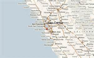 san carlos california map san carlos california location guide