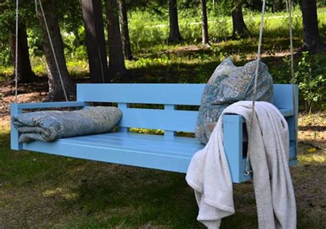 how to make a swing bench 10 pallet ideas for garden and balcony decorations