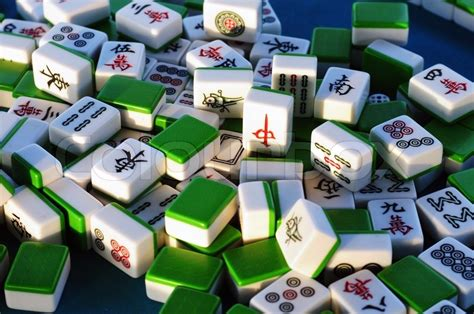 mahjong tiles stock image image of asian ancient traditional chinese mahjong tiles stock photo colourbox