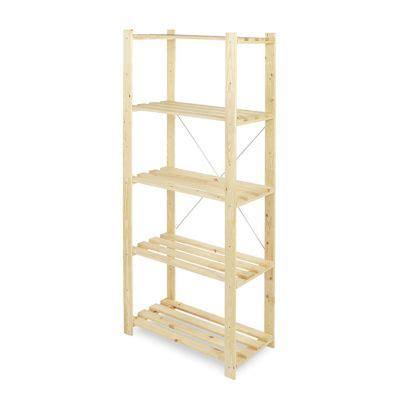 etagere 60 x 40 etag 232 re bois 3 tablettes l 75 x h 90 x p 40 cm castorama