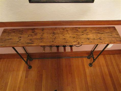 Rustic Sofa Table Custom Barnwood Console Table By John Gaines Woodworking