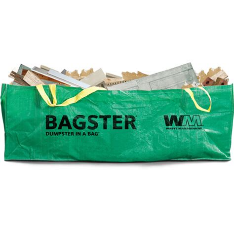 bagster dumpster in a bag walmart