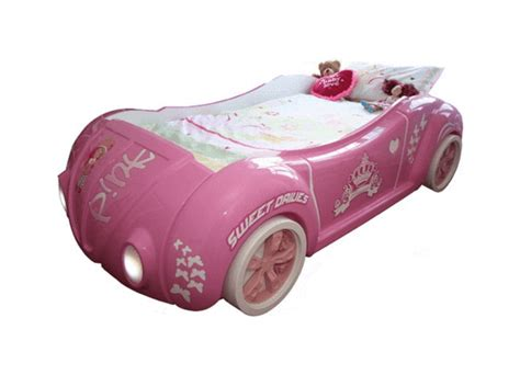 pink car bed speedster buttercup pink car bed for