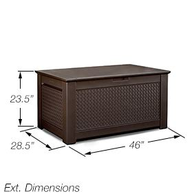rubbermaid patio chic storage bench amazon com rubbermaid patio chic plastic storage bench