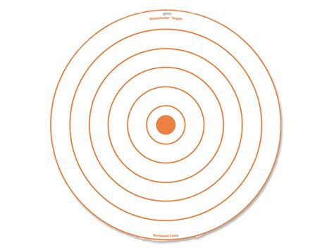 target bullseye birchwood casey sharpshooter 24 bullseye target corrugated plastic