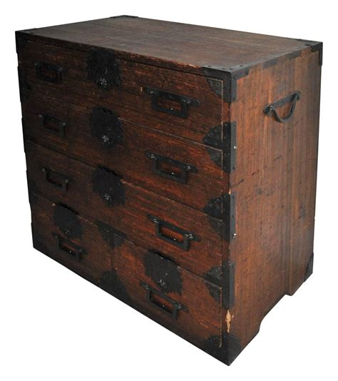 japanese chest antique japanese tansu chest at 1stdibs