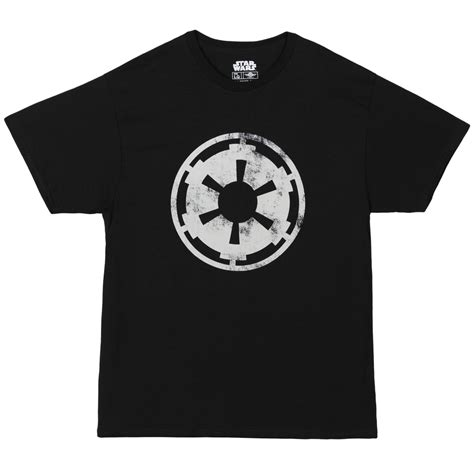 Tshirt Imperial Forces Logo wars galactic empire imperial crest logo licensed unisex t shirts ebay