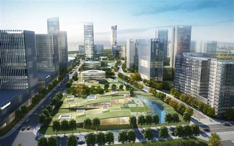 xiasha eco business park wins 2013 aiacc award for design design