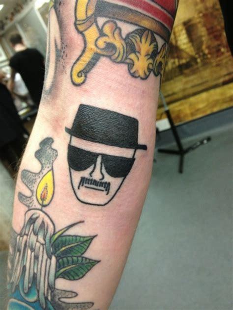 heisenberg tattoo heisenberg on arm
