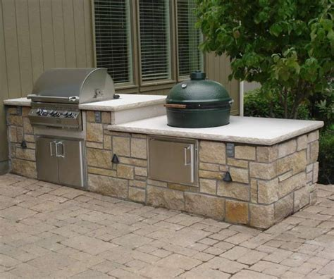 Outdoor Kitchen Islands Outdoor Kitchen Components And Accessories Cabinet Component System