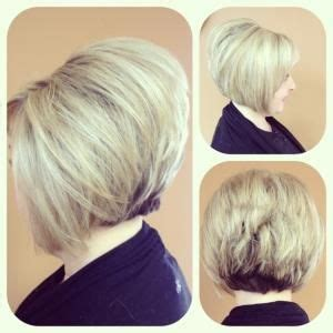 stacked bob  hollie womens hairstyles stacked bob