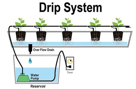 hydroponic drip irrigation system indoor gardening