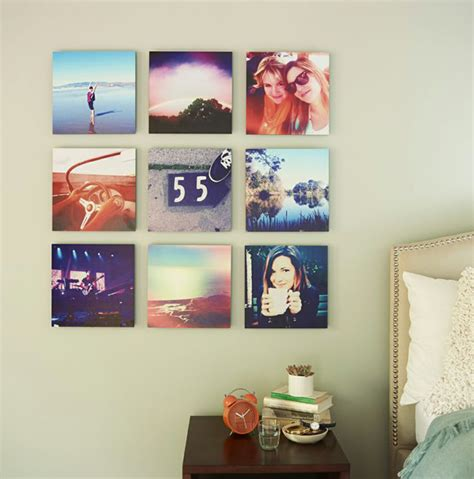 how to hang art prints 20 cool diy photo collage for dorm room suggestions
